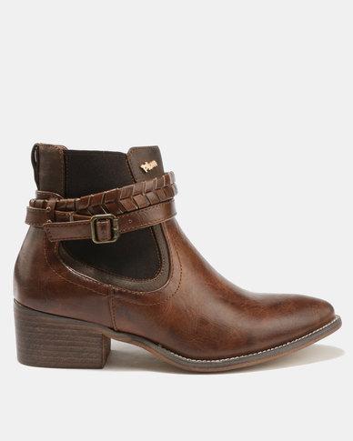cheap get authentic low cost sale online PLUM Plum Kalden Ankle Boots Brown cheap sale clearance buy cheap recommend XPDqGSW