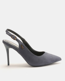 PLUM Feselda Heels Blue