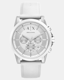 Armani Exchange Outerbanks Watch White