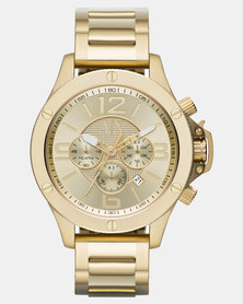 Armani Exchange Wellworn Watch Gold-Tone