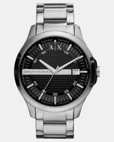 Armani Exchange Hampton Watch Silver-Tone