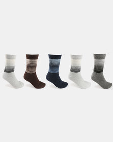 Joy Collectables 5 Pack Socks Multi