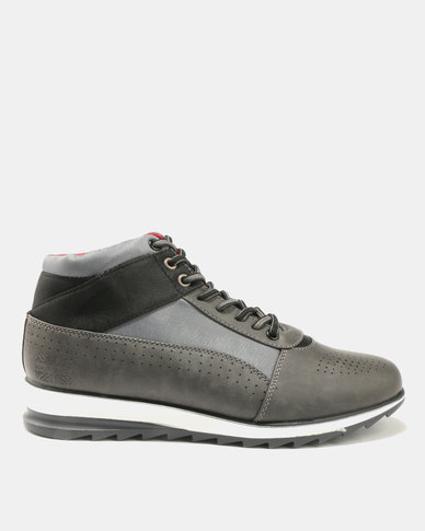 Paul of London Paul Of London Perforated Lace Ups Grey latest outlet choice original online where can i order cheap sale with mastercard KUa4cjX