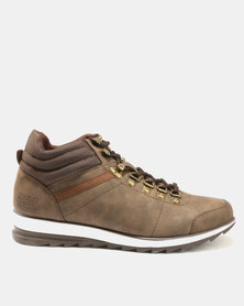 Paul Of London Lace Up Boots Brown