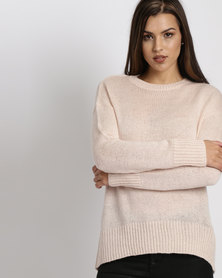 New Look Longline Jumper Pale Pink