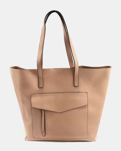 New Look Sabtrina Shopper Bag Oatmeal