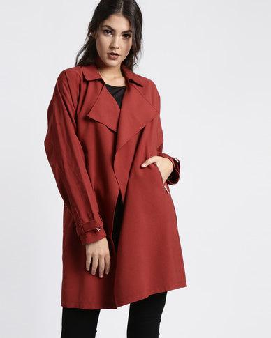 New Look Bailey Update Coat Red