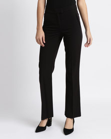 New Look Chelsea Suit Bootcut Pants Black