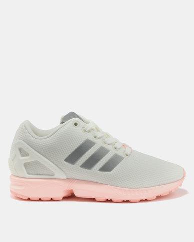 19792701b2bb9 adidas ZX Flux Womens Footwear White Metsil Hazcor