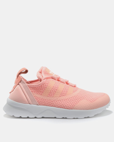 brand new 11c79 7754b adidas ZX Flux ADV Virtue Footwear Trainer Pink   Zando