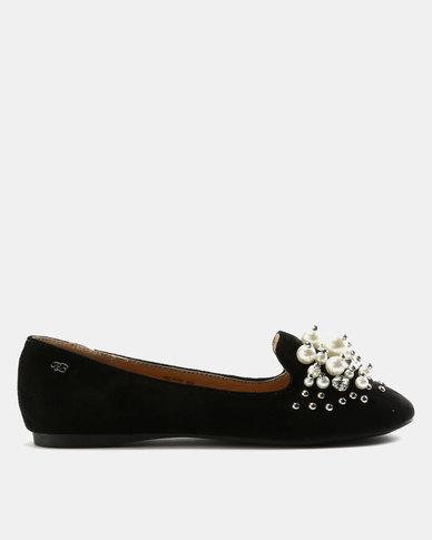 Miss Black Adelaide Flats Black