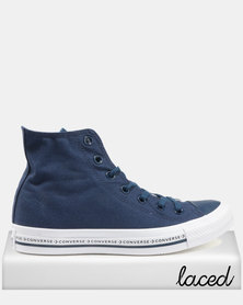 Converse Chuck Taylor All Star HI Sneakers Navy/White