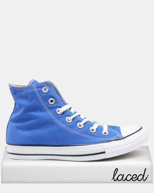 3e728768b68e48 Converse Chuck Taylor All Star HI Sneakers Hyper Royal