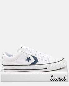 Converse Star Player - Ox - White/Navy/Black