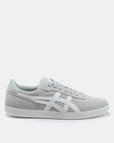8fd31bf6f3 Asics Tiger Percussor TRS Sneakers Mid Grey & White