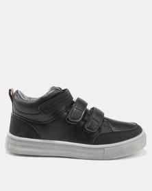 Bubblegummers Boys Casual Sneakers Black