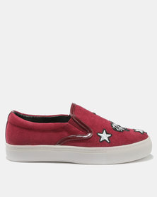 Bata Ladies Casuals Red