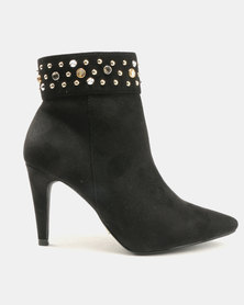 Utopia Pointy Boots Black