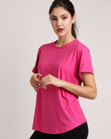 Bfit Active Wear Box Fit Tee Pink