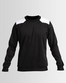 Bfit Active Wear Crew Neck Set Black/ White