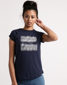 Rip Curl Tribe Tee Navy