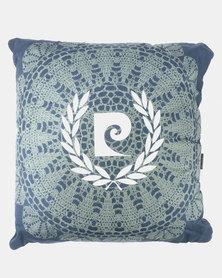 Pierre Cardin Delorme Scatter Cushion Blue