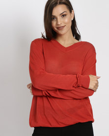 Utopia Lightweight Jumper Orange