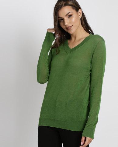 Utopia Lightweight Jumper Green