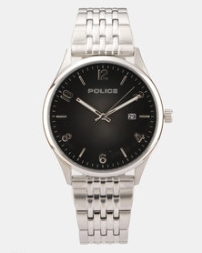 Police Eminent Stainless Steel Watch Silver-plated