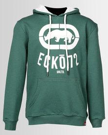Ecko Unltd Boys Pull Over Hoodie Fern Green