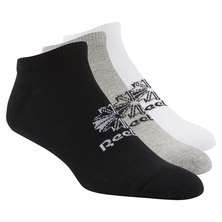 Foundation No Show Socks - 3 pair