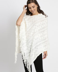 Utopia Poncho Cream