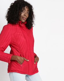 Utopia Puffer Jacket Red