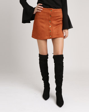 SassyChic Abby Skirt Rust