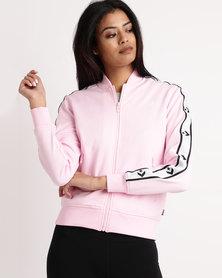 Converse Star Chevron Track Jacket Pink