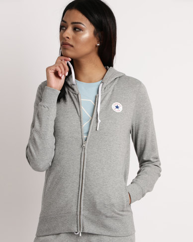 Converse Core Full-Zip FT Vintage Grey Heather