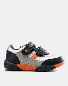 Bubblegummers Boys Sneakers Grey/Orange
