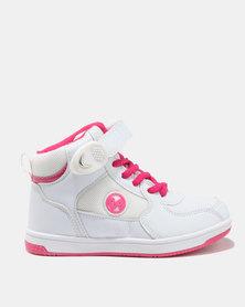 Bubblegummers Girls Sneakers White