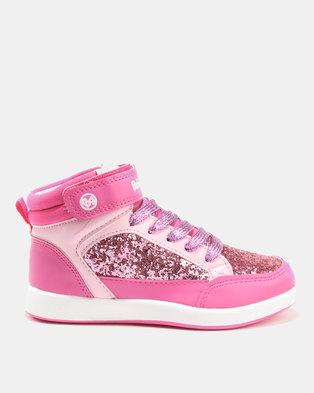 Bubblegummers Girls Sneakers Pink