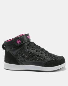 Bubblegummers Girls Sneakers Black