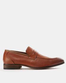 Utopia Formal Slip On Shoes Light Brown