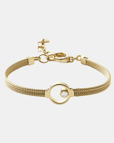 Skagen Elin Stainless Steel Bracelet Gold-plated