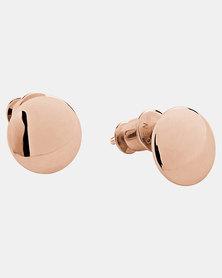 Skagen Elin Earrings Rose Gold-plated Stainless Steel