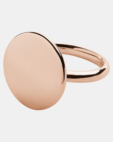 Skagen Elin Ring Rose Gold-plated Stainless Steel