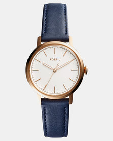 Fossil Ladies Watch with Strap Blue