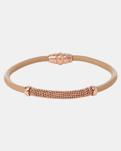 Fossil Classic Bracelet Rose Gold-plated