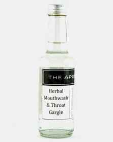 The Apothecary Herbal Mouthwash and Throat Gargle 125ml