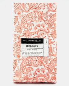 The Apothecary Rose Garden Bath Salts