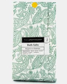 The Apothecary Bergamot & Rosemary Bath Salts