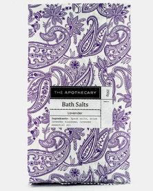 The Apothecary Lavender Bag Bath Salts